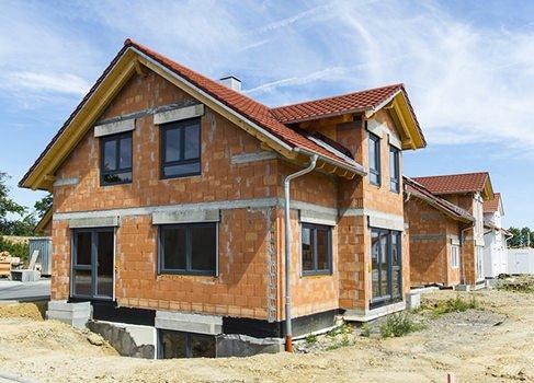 Unfertiges Haus - Rohbau