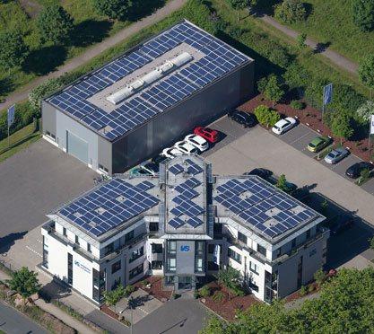 Firmengebäude der vs vergleichen-und-sparen GmbH